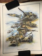 The Kentucky National Guard Poster in Fort Knox, Kentucky