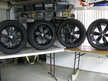 Foose wheels / rims 22 inch by 9.5 inches wide in Yucca Valley, California