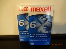 Maxell VHS tapes 2pk in Ramstein, Germany