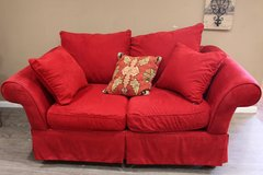 Red Love Seat in CyFair, Texas