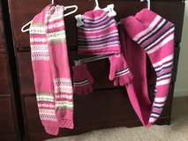 Girl scarf, gloves, knit hat in Belleville, Illinois
