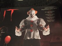 "Pennywise ""It"" the Clown Costume - NEW In PACKAGE! in Glendale Heights, Illinois"