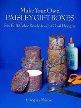 NEW! 6 Full-Color Paisley Oval Designs Cut and Make Boxes in Bartlett, Illinois