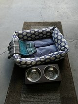 Small dog bed & sweater in Camp Lejeune, North Carolina