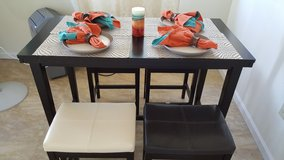 Table and chairs in Schofield Barracks, Hawaii