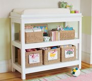 Pottery Barn Kendall crib and changing table in Temecula, California