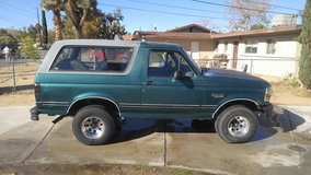 96 bronco in Yucca Valley, California