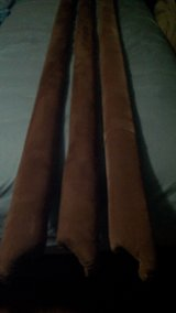Bed Rails for California King Waterbed-soft velour fabric in Hopkinsville, Kentucky