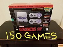 Snes Classic with 150+ GAMES in Camp Pendleton, California