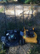 For sale 2 Push Lawn Mowers ( they do not run) in Leesville, Louisiana