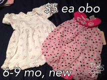 6-9 mo baby girl clothes NWT in Ramstein, Germany