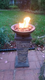 Firebowl Column Propane Powered in Bartlett, Illinois