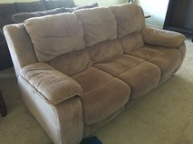 Brown pull out Couch in Fort Leonard Wood, Missouri