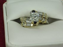 1.70 CT PRINCESS DIAMOND RING PRICE REDUCED $1000.00 3 DAYS ONLY in Fort Bliss, Texas