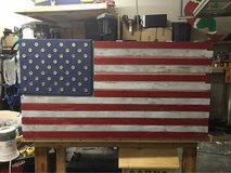 American Flag Case in Fort Lewis, Washington