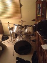 Tama Rock Star 5 piece chrome drum set with Hardware in Tinley Park, Illinois