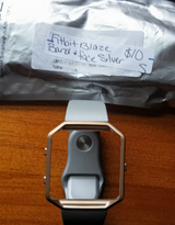 Fitbit blaze band and face  silver band gold face in Fort Campbell, Kentucky