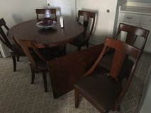 Dining room table and chairs in Schofield Barracks, Hawaii