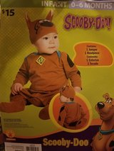 Infant Scooby costume in Spring, Texas