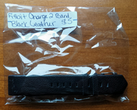 Fitbit Charge 2 band  Black leather in Clarksville, Tennessee