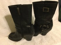 Harley Davidson Motorcycle Ladies boots size 5 LEATHER * USED Heels in Okinawa, Japan