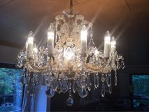Original antique Crystal Chandelier to bling up your dining, bed or living room in Mannheim, GE