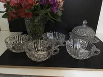 nice vintage glass cups glasware french shabby chic in Ramstein, Germany