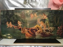 Beautiful antique picture without frame from France in Ramstein, Germany