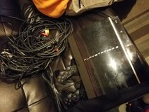Sony PS3 Original with pair of controllers and ada in Fort Campbell, Kentucky
