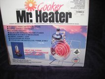 Mr. Heater/cooker in Camp Lejeune, North Carolina