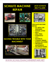 Schultz Machine Repair in Houston, Texas