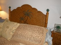 6 piece,palm bedroom set (queen) in Beaufort, South Carolina