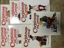 vintage Christmas books--Southern Living and kids projects in Fort Hood, Texas