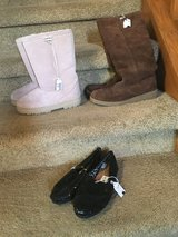 Juicy Couture & Bear Claw Boots & TOMS Shoes in Plainfield, Illinois