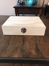 Wooden jewelry box in Fort Campbell, Kentucky