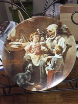 first limited edition Norman Rockwell's The Toy Maker collector's plate 1977 in Keesler AFB, Mississippi