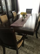 Dining room table w/8 chairs and China cabinet / hutch in Fairfax, Virginia