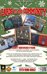 Register now! Cards to the Community Competition in Fort Leonard Wood, Missouri