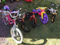 Kids Bicycle and Tricycle in Fort Irwin, California