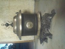 Vintage Wood Burning Parlor Stove in Yucca Valley, California