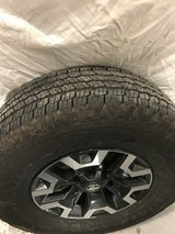 2016 Toyota Tacoma wheels with tires in New Orleans, Louisiana