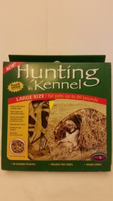 Hunting Kennel Large Size Dog Pets Up to 90 lbs. Camo in Plainfield, Illinois