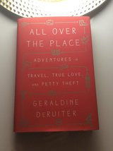 """All Over The Place"" by Geraldine Deruiter-Gently used hardback book in Ramstein, Germany"
