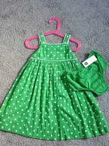 NWT Baby Gap 3T Green w/ White Polka Dot in Fort Campbell, Kentucky