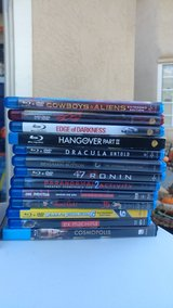 BluRay DVD Movies in Fairfield, California