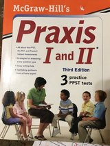 Praxis 1 and 2 and PLT elem ed. Study book in Fort Campbell, Kentucky