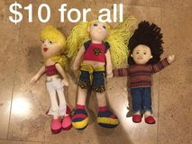 Small stuffed fabric dolls for babies/toddlers in Naperville, Illinois