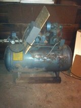 Kobe or Kolus Vintage Air Compressor in Plainfield, Illinois