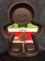 Gingerbread Man Cake Pan in DeKalb, Illinois