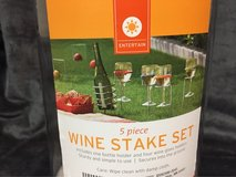 wine stake set in Plainfield, Illinois